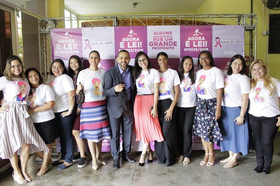 Evento de promoção da campanha em Embu das Artes