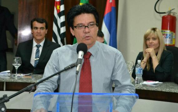Vereador Silvino defende seu projeto durante sessão ordinária