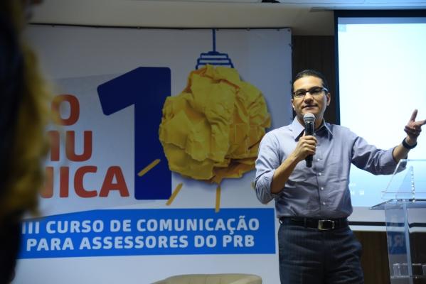 Curso reúne mais de 120 assessores do PRB de todo o país para dois dias de capacitação em comunicação digital