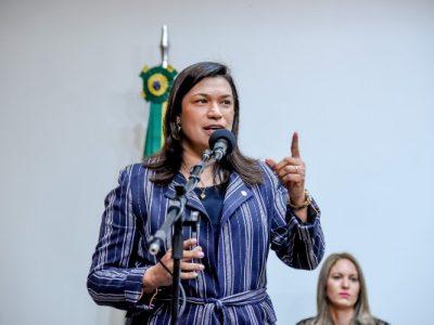 Deputada federal Maria Rosas (Republicanos-SP) participou da abertura da Semana Nacional da Pessoa com Deficiência Intelectual e Múltipla