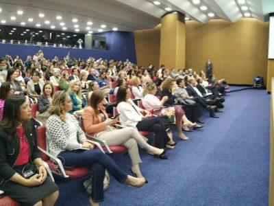 Deputada federal Maria Rosas (Republicanos-SP) participou do Simpósio Internacional – Impacto dos Serviços de Acolhimento da Primeira Infância