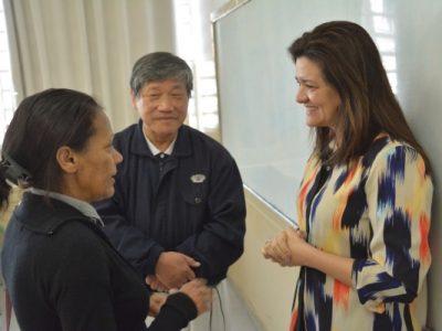 Renata Sene (Republicanos) prestigiou o trabalho de voluntariado realizado pela Associação Budista Beneficente Tzu Chi