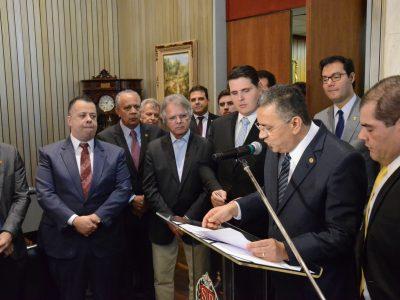 Gilmaci Santos assume presidência da Alesp por 5 dias