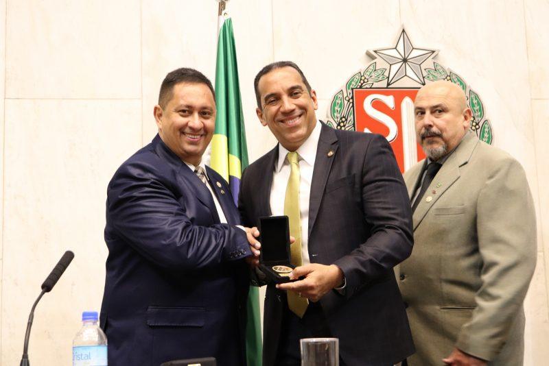 Nelson Silva Júnior, Altair Moraes e Humberto Panzetti