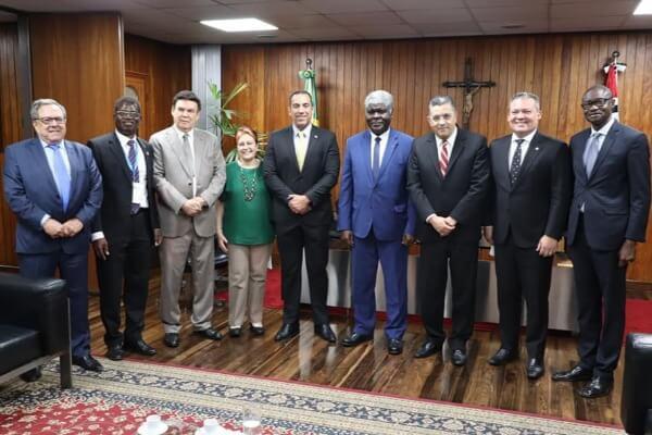 Reunião teve como finalidade fortalecer a cooperação entre o país africano e o Estado de São Paulo