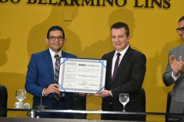 Homenagem foi proposta pelo deputado estadual João Luiz (Republicanos-AM)