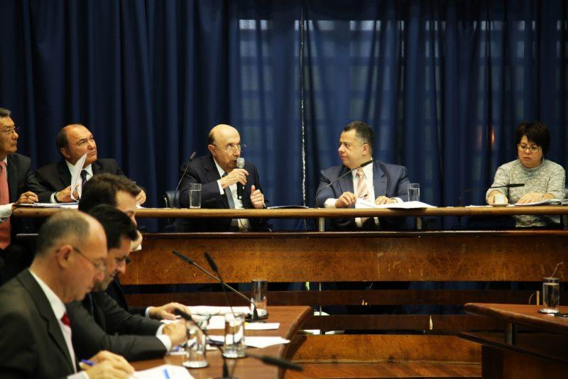 Deputado Wellington Moura recebe o Secretário Henrique Meirelles