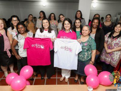 Reunião da militância Mulheres Republicanas em São Paulo debate a importância da campanha Outubro Rosa.