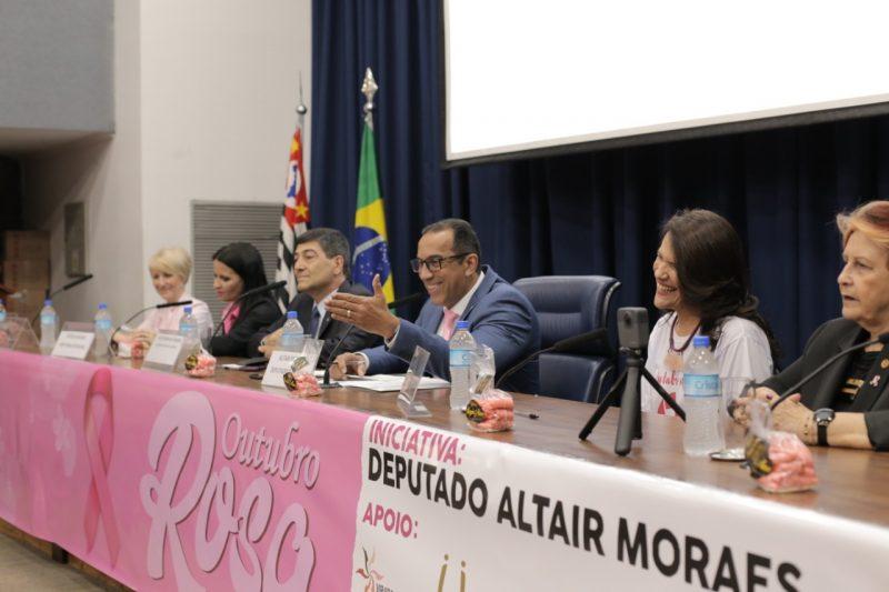 Altair Moraes preside abertura oficial do Outubro Rosa na ALESP