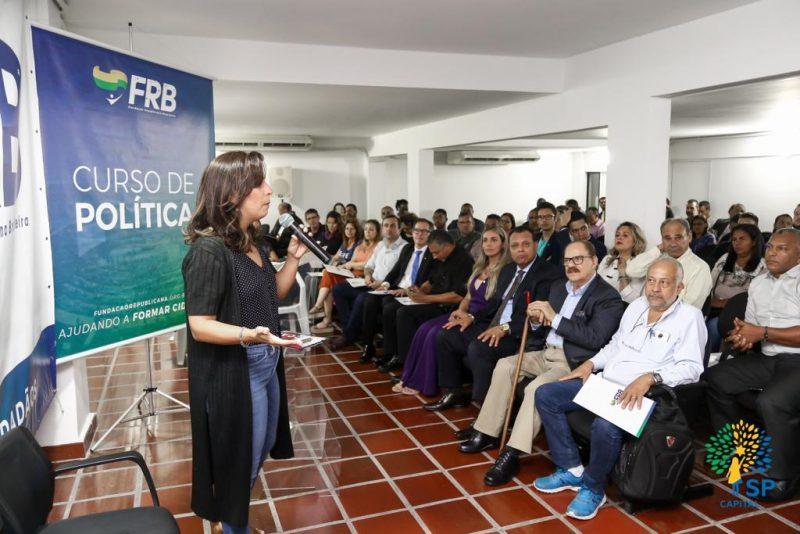 Palestra sobre política participativa, cidadania e democracia movimenta reunião mensal no Republicanos Capital SP