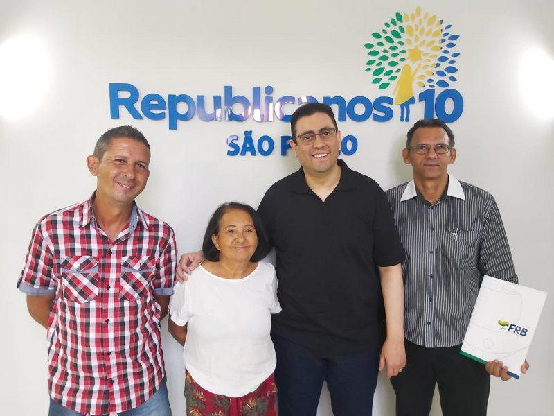 Presidente estadual recebe diretoria executiva de Itapira