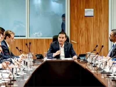Recomendou o presidente nacional do Republicanos, Marcos Pereira, em reunião com os presidentes estaduais nesta segunda-feira (4), em Brasília