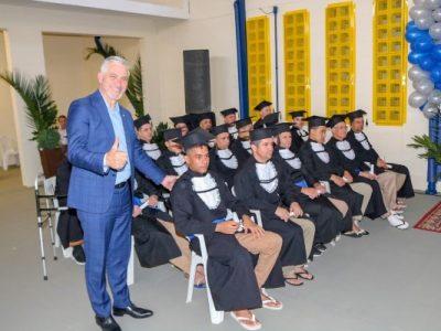 Detentos participam do programa EJA – Educação de Jovens e Adultos, nível I e II do ensino fundamental e ensino médio
