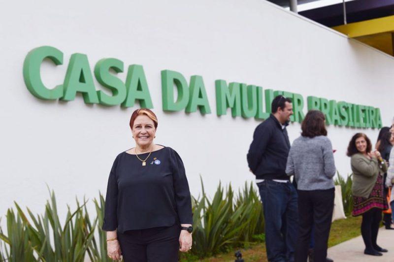 Edna Macedo participa da inauguração da Casa da Mulher Brasileira