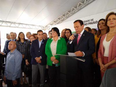 Maria Rosas participa de inauguração da Casa da Mulher Brasileira