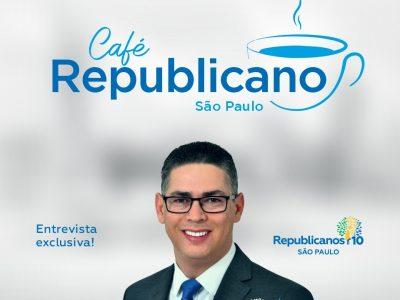 Marcos de Alcântara do Republicanos Capital SP participa do Podcast Café Republicano