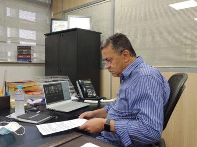 Gilmaci Santos é eleito presidente da Comissão de Finanças