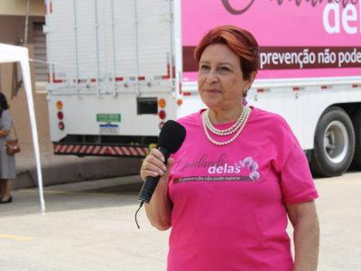 Consultório itinerante leva exames preventivos às mulheres de São Paulo