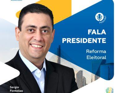 Reforma eleitoral para 2022 é tema do Fala Presidente